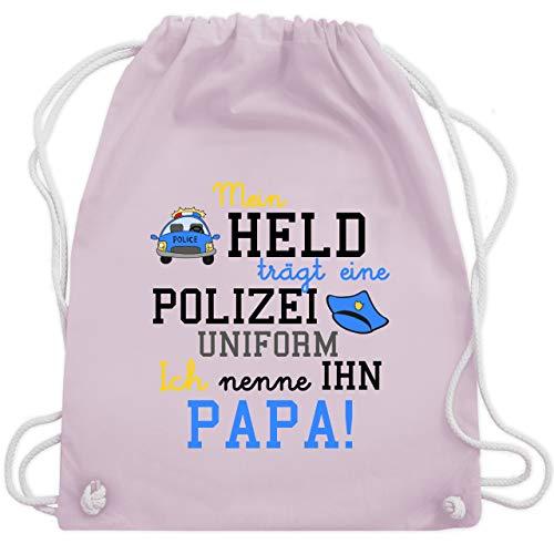 Held trägt eine Polizeiuniform - Unisize - Pastell Rosa - WM110 - Turnbeutel & Gym Bag ()