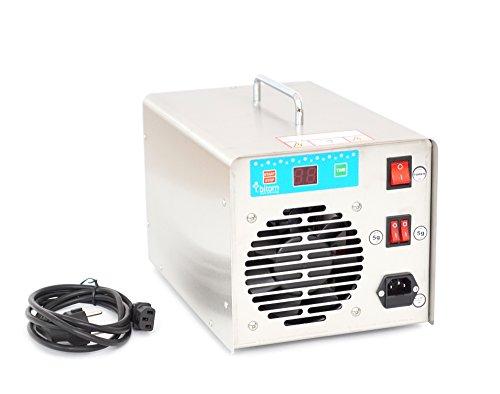 Profi Ozongenerator 10000mg/h 10g/h Ozonisator Ozongerät Ozon Luftreiniger GE10 für Auto und Wohnräume -