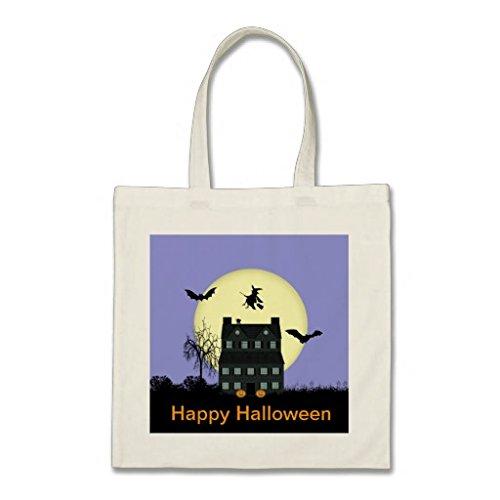 DUANLEYI zucca Halloween Borsa 12.5 x 12.2inches P =Bag7