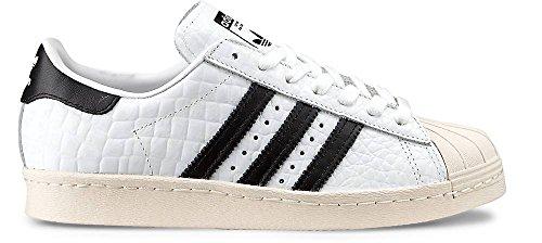 80s Superstar Superstar W nero bianco bianco Superstar W 80s nero awqT5XF
