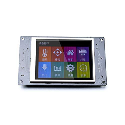 ZHQEUR 3d Druckerteile MKS TFT32 L V4 3D-Drucker Bildschirmanzeige 3D-Druck Hauptplatine Hauptplatine Farbe Smart Touch Controller Display 3,2 Zoll -