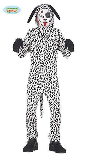 Kostüm Dalmatiner Hunde Kind - Guirca Dalmatiner Kostüm für Kinder Kinderkostüm Tier Hund Hundekostüm Gr. 98-146, Größe:98/104