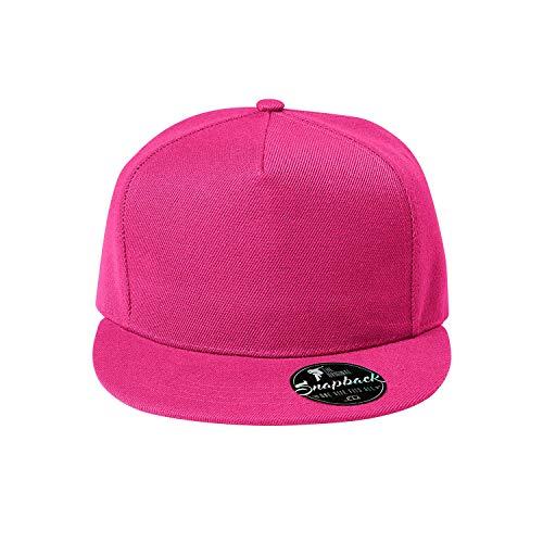 OwnDesigner - Snapback, Cap, Mütze, Kappe Unisex Baseball Cap in verschiedenen Farben, für Erwachsene und Kinder, A8-pink, Einheitsgröße