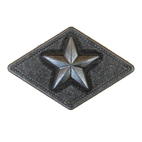 Set von 6Star Diamant Lone Star Schublade Schrank Pull Western Southwest Rustikal Texas, 4004 (Star Schublade Ziehen)