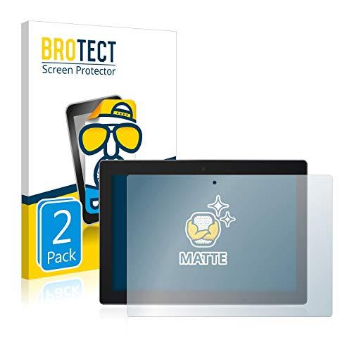 BROTECT Schutzfolie Matt kompatibel mit Lenovo Tab 3 10 Business TB3-X70L [2er Pack] - Anti-Reflex