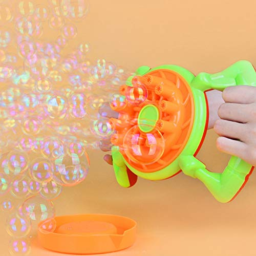 Bnineteenteam Bubble Machine, Automatisches Bubble Blower mit Bubble Liquid für Kinder, Familie, Geburtstagsfeier