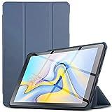 IVSO Hülle für Samsung Galaxy Tab A 10.5 SM-T590/T595, Slim Schutzhülle mit Auto Aufwachen/Schlaf Funktion Perfekt Geeignet für Samsung Galaxy Tab A SM-T590/SM-T595 10.5 Zoll 2018, HJ-Stone