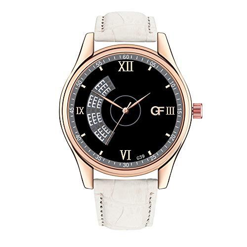 Gf Fashion Leather Herrenuhr G39 Daaomi High-End Herren Quarz Brief Uhr Lederband Herrenuhr