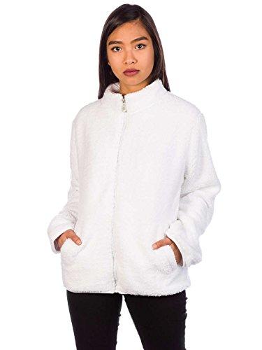 Fila Damen Jacke Sherpa Fleece Jacket (Fila Jacke Frauen Fleece)