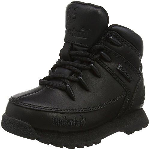 Timberland Unisex-Kinder Euro Sprint Stiefel, Schwarz (Black), 25 EU