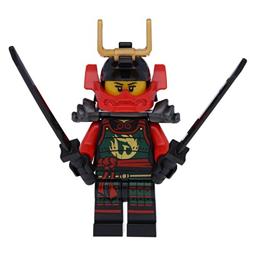 LEGO Ninjago: Minifigur Nya mit Maske und 2 Katanas (Schwert) NEUHEIT 2015