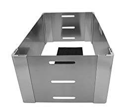 WrapNGuard Single Chafer Stand with Front Air Slots