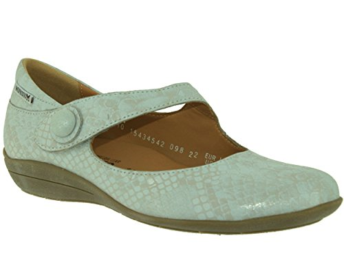 Mephisto Odalys Queen 14768 Silver, Mary Jane femme