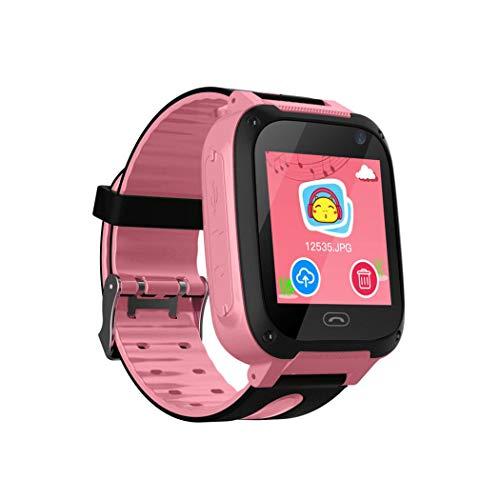 Tauser Reloj inteligente a prueba de agua, teléfono, teléfono, rastreador SOS, llamada con cámara Relojes de pulsera