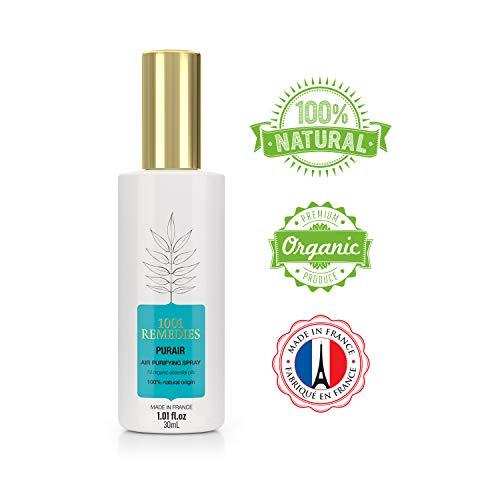 1001 Remedies Lavendel Spray- Kissenspray für Kopfkissen- Einschlafhilfe für Erwachsene und Kinder- Aromatherapie Lufterfrischer mit echtem naturreinem Lavendelöl- 30ml Lavendelspray - Lavendel-aromatherapie-spray