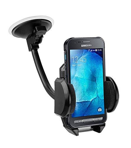 yayago Kfz / Auto Schwanenhals Halterung Halter für Samsung Galaxy Xcover 3 (-SM-G388F)