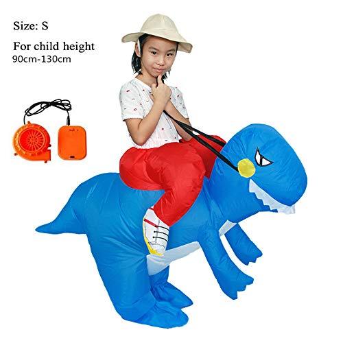 SHUFEI T-Rex Huckepack Kostüm, Morph Kostüme, T-Rex Huckepack Dress-Up Outfit, Lustige Party-Kleid Tier Cosply Für Kinder Und Erwachsene,S