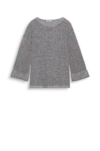 edc by Esprit, Felpa Donna Multicolore (Grey 030)