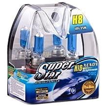 H8 Xenón Lámparas Halógenas ópticas 8500K Super Blancos Bulbos