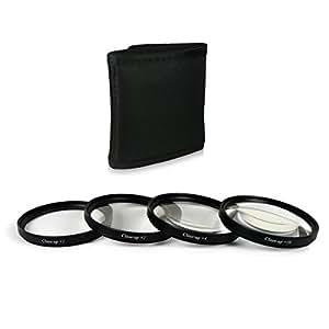 52mm Close up Macro +1 +2 +4 +10 Set di filtri professionale per Canon EOS M - Nikon D40 | D60 | D3000 | D3200 | D3300 | D5000 | D5200 - Panasonic Lumix DMC-G1 | DMC-G2 | DMC-G3 | DMC-G5 | DMC-G6 | DMC-G10 | DMC-GF1 | DMC-GF2 | DMC-GF3 - Pentax K-01 | K100D | K10D | K200D | K20D | K-30 | K-5 | K-5 II | K-5 IIs | K-50 | K-500 | K-7 | K-m | K-r | K-x - Samsung GX-1L - Fuji X20 | X-Pro1 - Olympus OM-D E-M1 | OM-D E-M5 e più… - include Filter Kit + Custodia in Nylon per i filtri