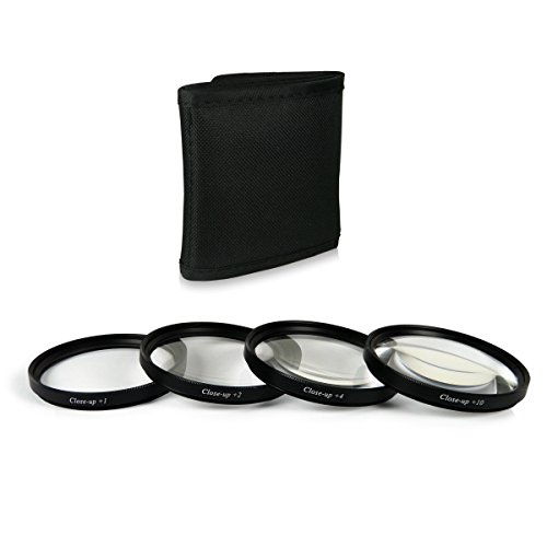 58mm Close up Macro +1 +2 +4 +10 Set di filtri professionale per Canon EOS 1DX | 5D Mark II | 5D Mark III | 5D | 6D | 7D | 10D | 30D | 40D | 50D | 60D | 70D | 100D | 1000D | 1100D | 1200D | 300D | 350D | 400D | 450D | 500D | 550D | 600D | 650D | 700D - Nikon Df - Panasonic Lumix DMC-GH4 - Samsung Galaxy NX | NX10 | NX11 | NX20 | NX200 | NX210 | NX30 | NX300 - Fuji X-A1 | X-E1 | X-E2 | X-M1 | X-T1 - Olympus E-420 | E-450 | E-520 | E-620 e più...