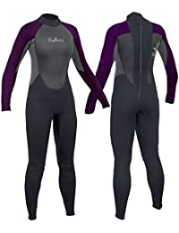 83a3f61d Gul Ladies Neptune 3/2 mm Neoprene Full or Shortie Wetsuits re Canoe Kayak  Surfing