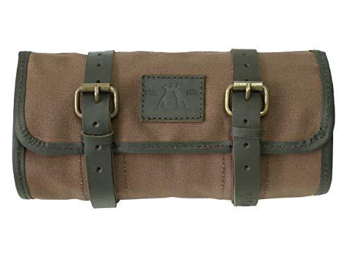 Preisvergleich Produktbild Kakadu Traders Werkzeugrolle Vintage Style aus Canvas und Leder