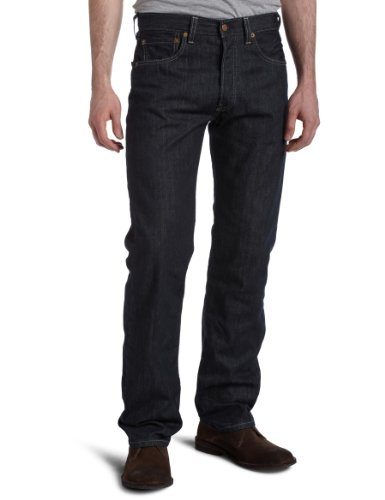 d84b40f7393 Levi's Mens 501 Original Fit Jean, Clean Rigid, 44x32 - Buy Online in Oman.  | Apparel Products in Oman - See Prices, Reviews and Free Delivery in  Muscat, ...