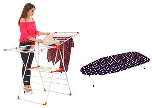 BUY MAGNA ROBUSTO CLOTH DRYER & GET TABLE TOP IRONING BOARD FREE