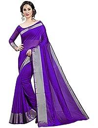 59bf2e8063ac5 Perfectblue Women s cotton Silk Saree With Blouse Piece (LineVariation)