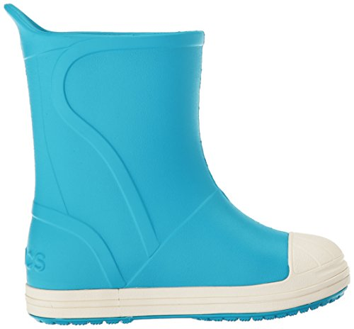 crocs Unisex-Kinder Bumpitbootk Gummistiefel Blau (Electric Blue/Oyster)