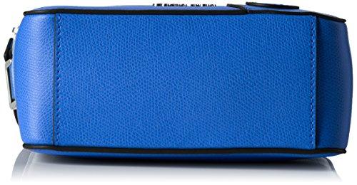 Calvin Klein Julienn3 Micro Crossbody, Sac Femme, 7x12x18 cm Bleu (Dazzling Blue)
