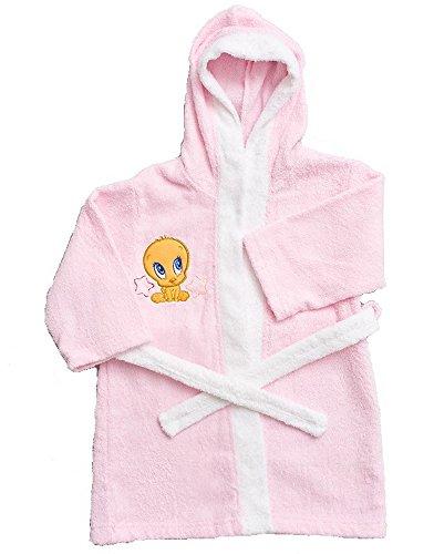 Looney Tunes Mädchen Bademantel mehrfarbig Rosa 5 Jahre