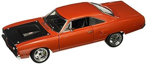Plymouth Road Runner, le cuivre/noire, 1970, voiture miniature, Miniature déjà montée, GMP 1:18