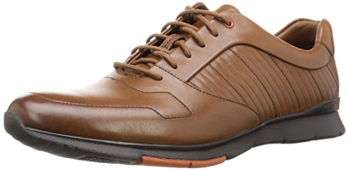 Clarks Herren Tynamo Race Derby Braun (Tan Leather)