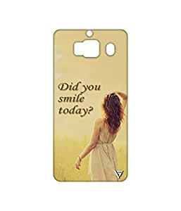 Vogueshell Did You Smile Printed Symmetry PRO Series Hard Back Case for Xiaomi Redmi 2 Prime