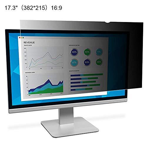 Wintesty Blickschutzfolie Laptop 24 Monitor -17-20 Zoll Computerbildschirm Desktop-Computer Universalbildschirm Sicherheit Anti-Peep-Schutzfolie Blickschutzfilter LCD-Bildschirm Schutzfolie Classy