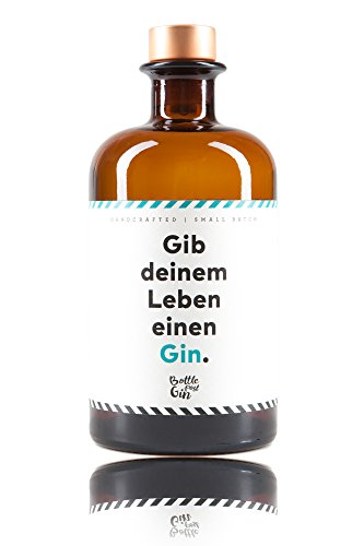 Craft Circus - Bottle Post Gin - Gib deinem Leben einen Gin - Handmade Premium Gin aus Deutschland - ideales Geschenk mit frischen Zitrus-Noten