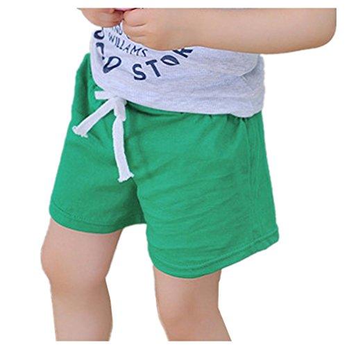 Children Summer Cotton Shorts Unisex Kids Boys And Girl Clothes Fashion Pants by Kolylong