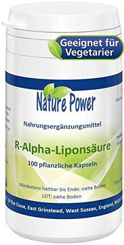 Seher 16 (Nature Power R-Alpha Liponsäure 100 pflanzliche Kapseln = 16 g)