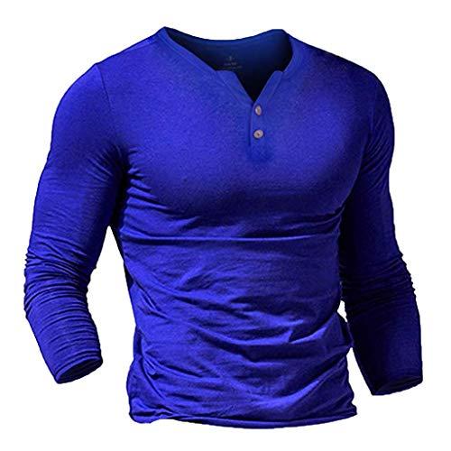 Bumen Pullover Herren Long Sleeves Solid V Neck Langarm Übergangsjacke Kaschmir Pullover Herren Slim Fit Outwear Übergröße Pullover Herren Hochwertige Pullover Pullunder - Slim-Fit -
