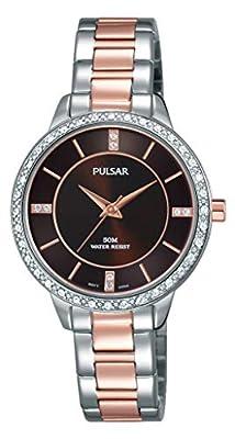 Pulsar Reloj Analógico para Mujer de Cuarzo con Correa en Acero Inoxidable PH8217X1