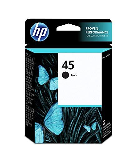 Cartouche d'impression noire HP n° 45 (42 ml) - 51645A