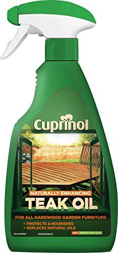 Cuprinol 5212378 Teaköl für draußen, klar