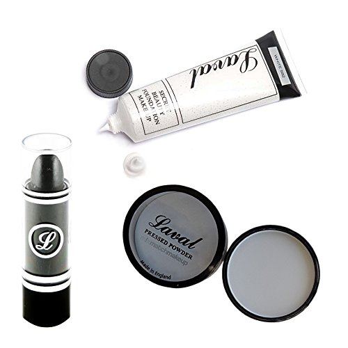 Laval Halloween Zombie, Goth, Vampire, Witch Look Makeup Bundle Set