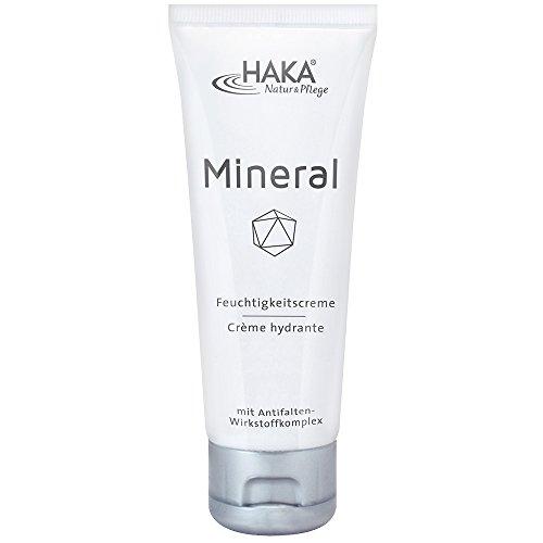 HAKA Feuchtigkeitscreme Mineral I 75 ml Tube I Anti Falten Creme für Damen I Tagescreme, Nachtcreme...