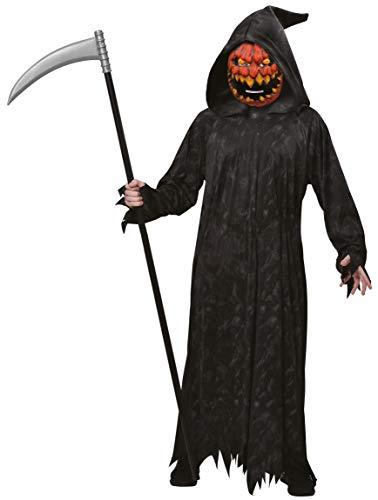 Enter-Deal-Berlin Halloween Jungen Kostüm Böser Kürbis Größe 122-128 cm ( 7-8 Jahre )