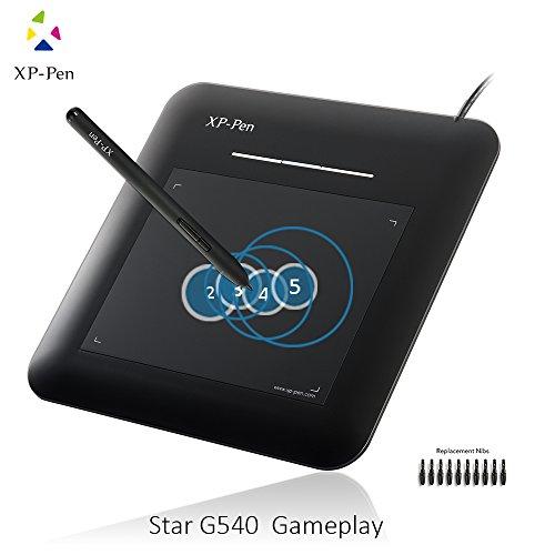 XP-Pen G540 osu! Grafiktablett 5.5 x 4 Zoll Zeichentablett Unterschrift Board schwarz