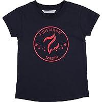 Zunstar Ben - Camisa/Camiseta de náutica para niño, Color Azul Oscuro/Rojo, Talla UK: Talla 134/140