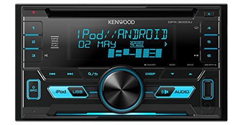 Kenwood DPX3000U Doppel-DIN-Receiver mit Apple iPod-Steuerung - Din Kenwood Stereo Doppel